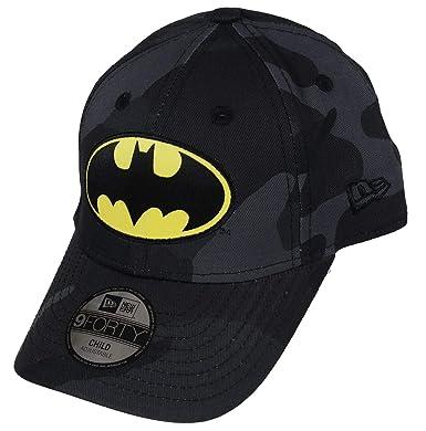 official photos 694e4 d3147 New Era Batman 9forty Kids Adjustable Cap Character Midnight Camo - Child