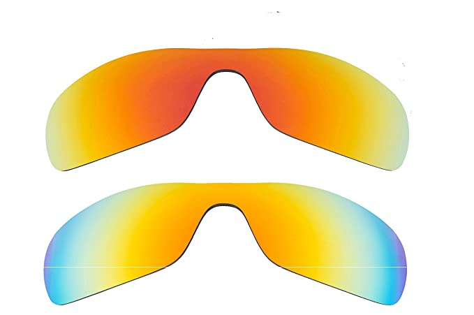 a8770901a6 Best SEEK Polarized Replacement Lenses for Oakley ANTIX Red Yellow Mirror   Amazon.co.uk  Clothing