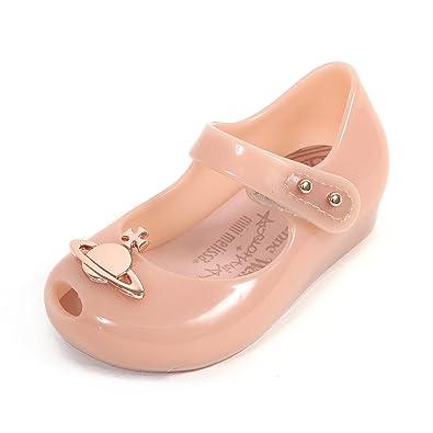 db936c83f4be Melissa x Vivienne Westwood Mini Infants Ultragirl Plastic Flat Nude  Orb-Nude-4