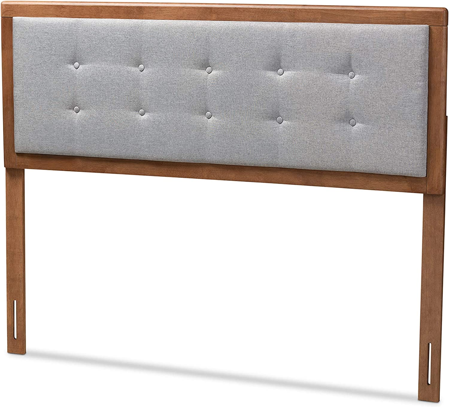 Baxton Studio Headboards, Queen, Gray Walnut