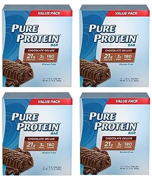 Pure Protein XYNFZETK Barras, Aperitivos saludables para ...