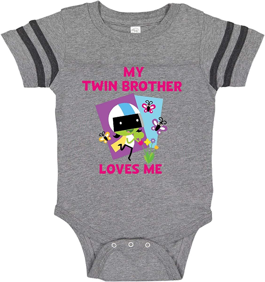 PBS Kids inktastic My Brother Loves Me with Dee Infant Creeper