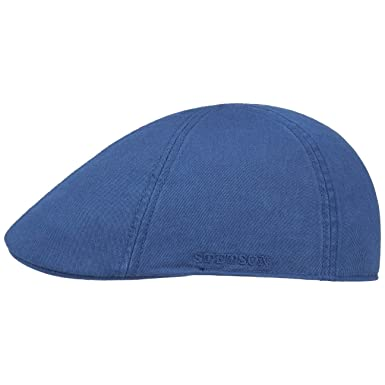 61924bf1f8 Stetson Texas Sun Protection Flat Cap Men   Ivy hat Cotton with Peak  Spring-Summer