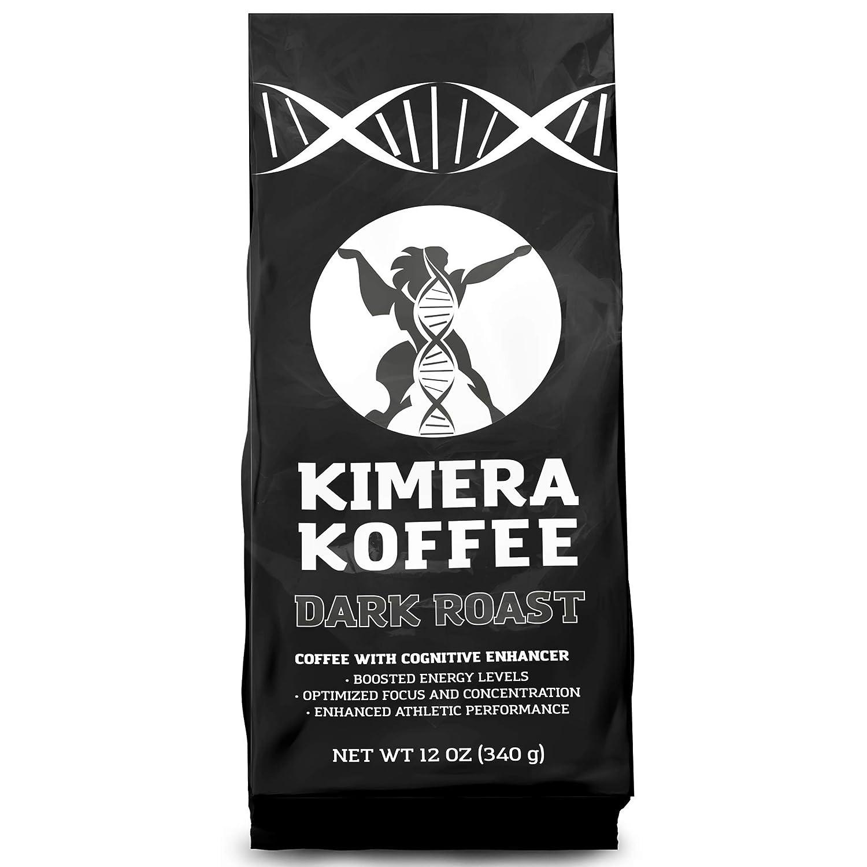 Kimera Koffee Tostado Oscuro - Café molido con nootrópicos (12 oz ...