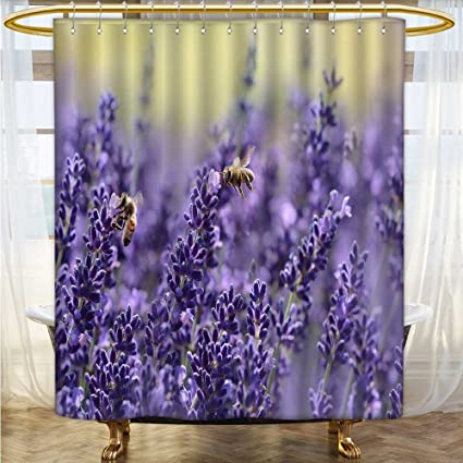 Amazon Also Easy Fabric Shower Curtain Liner Some Bees Are