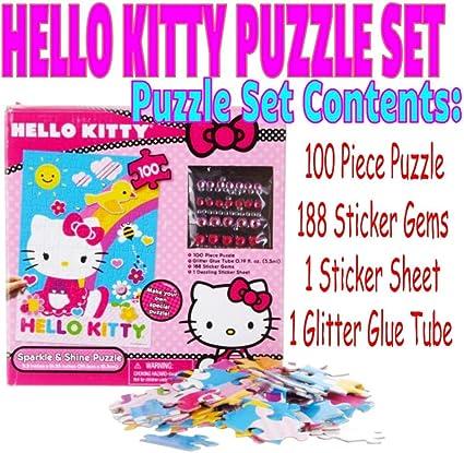 Sanrio Hello Kitty 100 piece puzzle