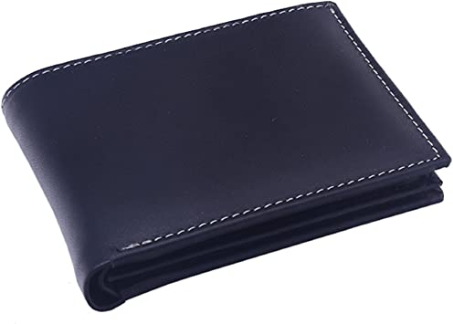OHM Leather New York Classic Wallet with ID Window