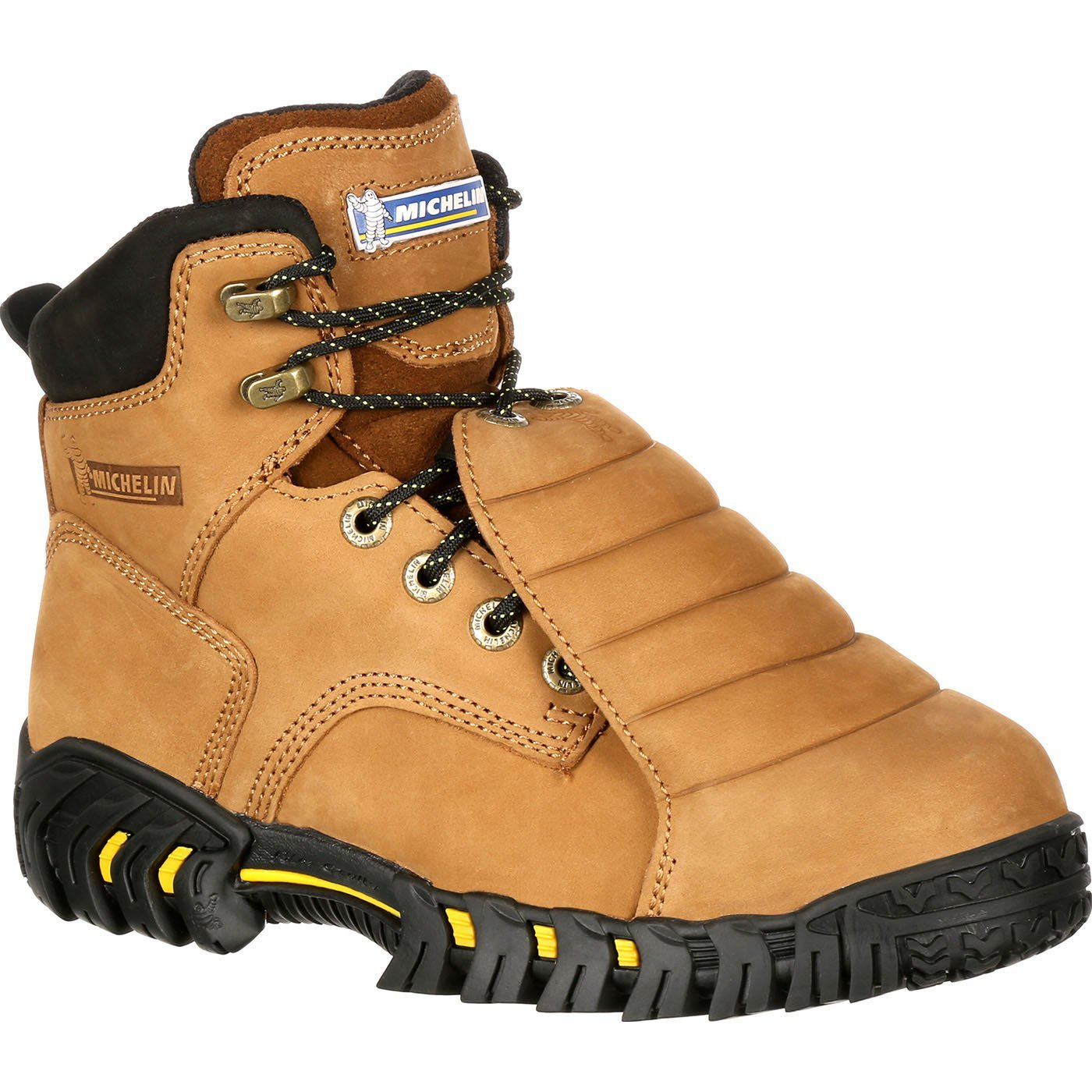 MICHELINXPX761 Work Boots, 8, Medium, Drilex(R), Brown, PR by Michelin