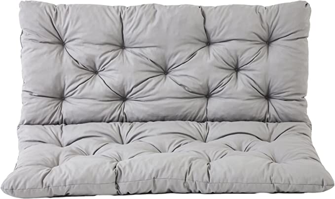 spessore 5 cm altalena per panca da giardino allaperto sedia lunga da pranzo 3//4 posti Wuwei divano interno antiscivolo Cuscino rettangolare in morbida pelle con cerniera
