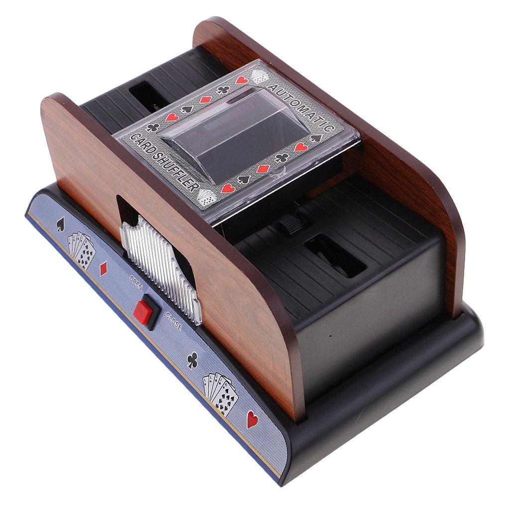 MonkeyJack 2 Deck Automatic Card Playing Shuffler Shuffling Machine Poker Casino Robot by MonkeyJack (Image #4)