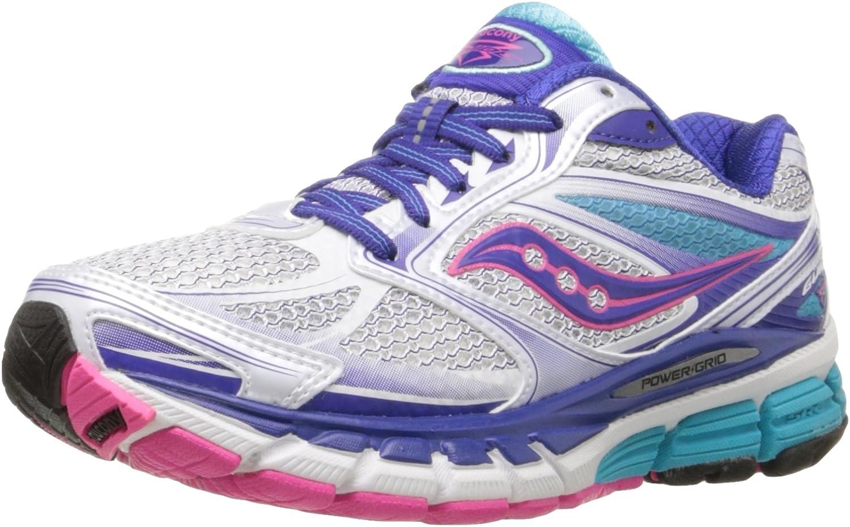 Saucony Guide 8 Mujer US 7 Blanco Estrechos Zapato para Correr: Amazon.es: Zapatos y complementos