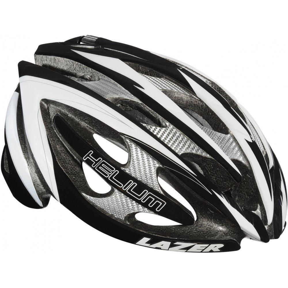 Lazer-cuffie Fahrrad, Helium in schwarz Weiß