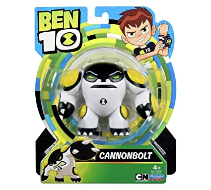 Amazon.com: Ben 10 – Figura de acción Ben Cannonbolt ...