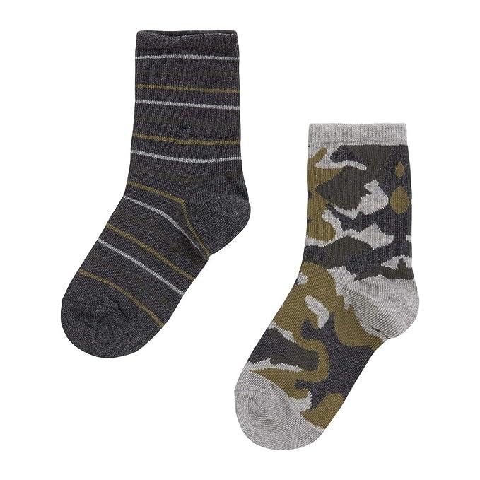Canada House Calcetines Sock niño Verdes, Talla 25-28