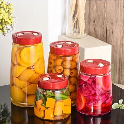 Latas selladas de vidrio Automático] Escape Fruta] Botellas de ...