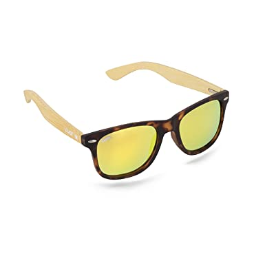 34aac3f5c2b Image Unavailable. Image not available for. Color  Virtue V-Blade Sunglasses  - Bamboo Tortoise with Gold Lens