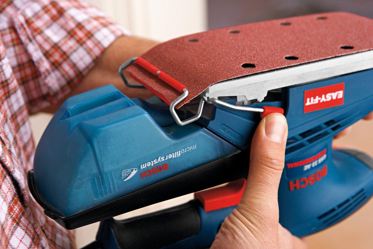 Bosch Professional Schwingschleifer GSS 23 AE 190 Watt, Schwingschleif-/Ø: 2 mm, im Koffer