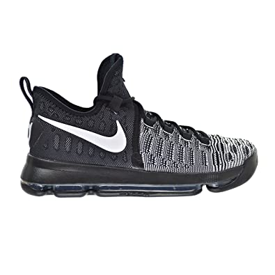 the latest c1e49 94c5f ... reduced nike zoom kd 9 mens shoes black white 843392 010 9.5 d 58bd8  3689d