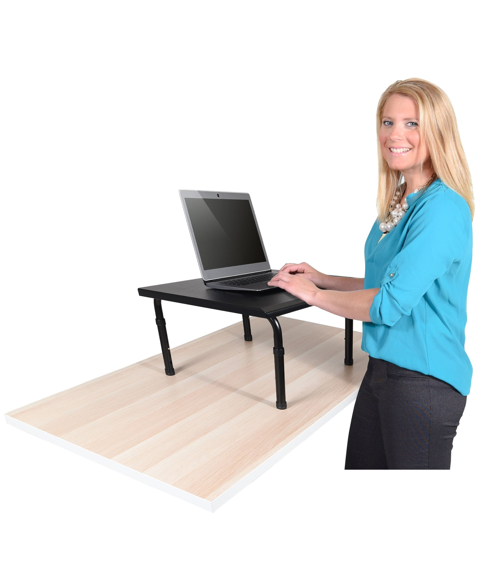 Adjustable height standing desk. Convert your desk to a standing desk