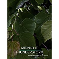 Midnight Thunderstorm for Sleep 9 Hours