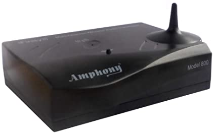 Multichannel Wireless Audio Transmitter for making Surround Speakers  Wireless - Model 800, Transmits 4 Audio Channels, 300' range, Connects to  any