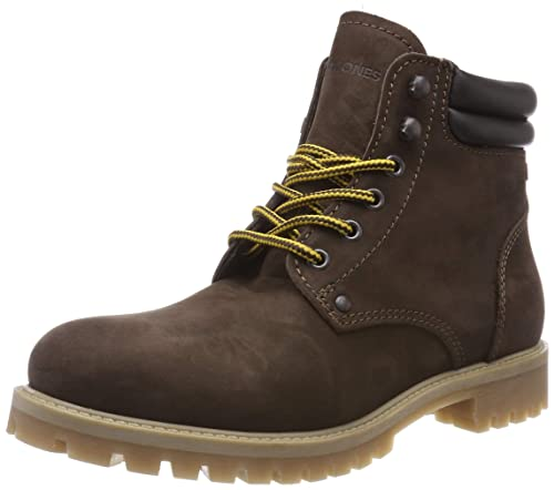 sports shoes 8eba7 09ee1 JACK & JONES Herren Jfwstoke Nubuck Java Biker Boots
