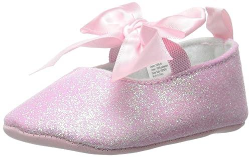 Little Me Mary Jane Light Pink Sugar Mary Jane (Infant), Pink, 9-12 Months M US Infant
