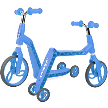 Vokul Gh05 Bicicleta sin Pedales Patinetes para niños (Azul ...