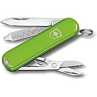 Victorinox Unisex – nóż kieszonkowy dla dorosłych Classic SD Colors, Smashed Avocado, 58 mm