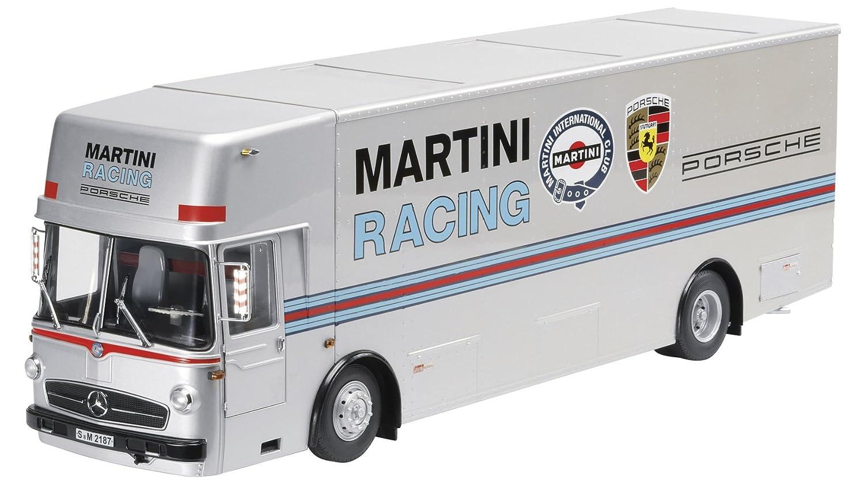 Schuco 450032100 Classic 1:18 - Mercedes-Benz O317 Martini Renntransporter