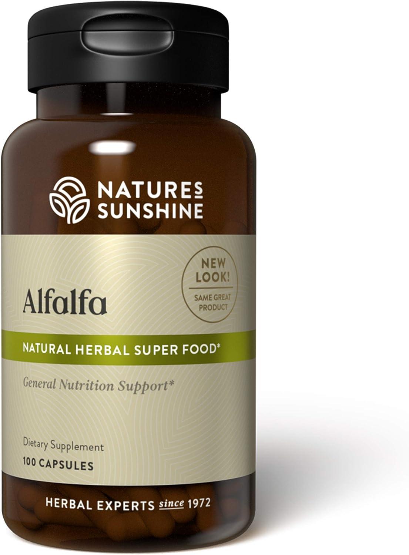 Nature's Sunshine Alfalfa, 100 Capsules