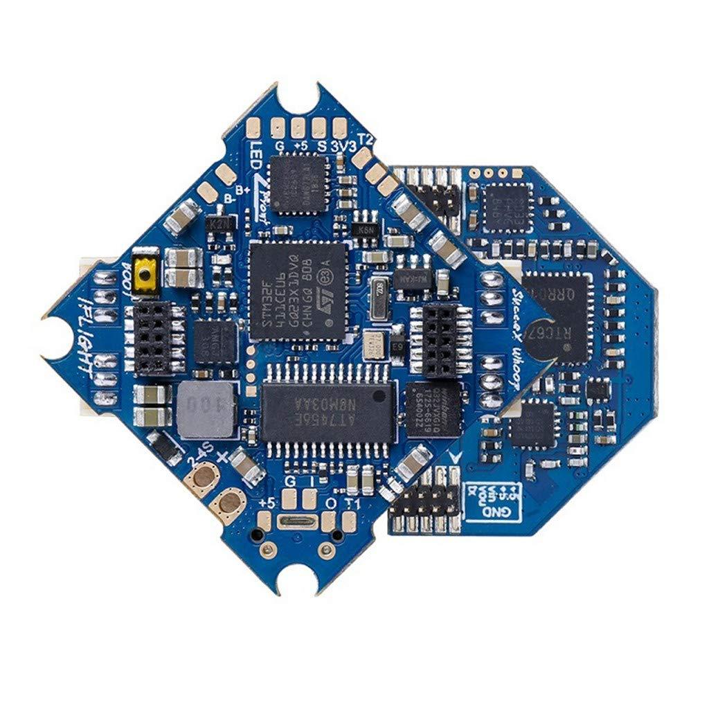 Pstars 2 in1 Flight Controller and ESC IFlight SucceX F4 Whoop Flight Controller 2-4S 12A ESC AIO Board for FPV Drone Flight Control and ESC in One