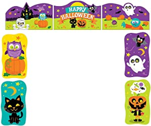 Trunk Or Treat Decorating Kit for Halloween - Party Decor - Wall Decor - Cutouts - Halloween - 7 Pieces