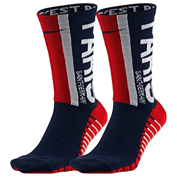 Nike Paris Saint Germain Squad - Medias de fútbol, otoño/Invierno, Unisex Adulto, Color Midnight Navy/Challenge Red, tamaño L/EU 46-50: Amazon.es: Deportes ...