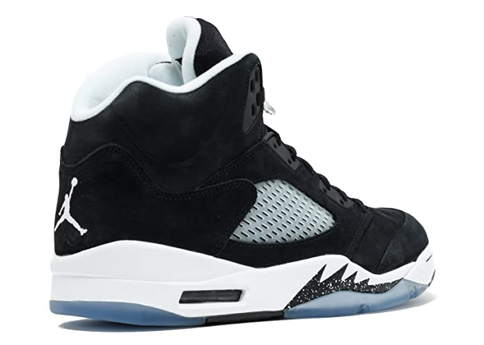 sports shoes 26721 c1df1 Jordan Air 5 Retro Oreo Men's Shoes Black/Cool Grey-White 136027-035