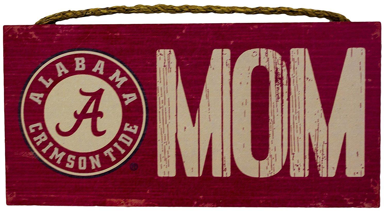 Fan Creations Alabama Crimson Tide Mom Sign Wooden Sign