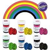 Wilton Icing Colour Gel Paste Primary Colours Set - 6x 28g