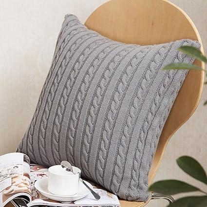 Amazon Highpot Fashion Knitting Throw Pillow Cases Knitted