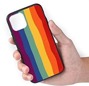 King Dare Compatible with iPhone 11 Pro Case, Soft TPU Shell Full Protective, Rainbow iPhone 11 Pro 5.8 Inch for Girls/Women