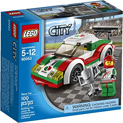 No Lego bricks included Lego City 60053 Race Car INSTRUCTION BOOK ONLY