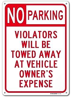 Amazon.com: Leyenda - Señal de aparcamiento privado (tamaño ...
