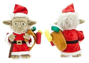Disney Star Wars Yoda Peluche como Navidad Santa Yoda Plush 23 cm