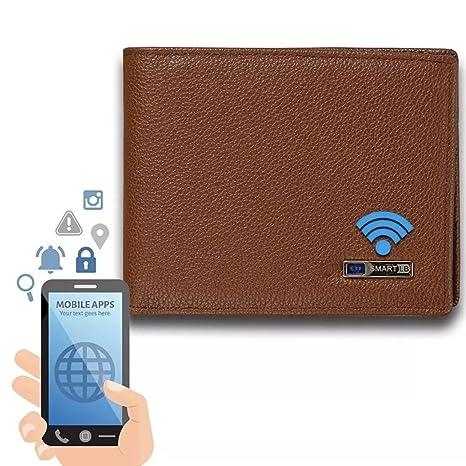 sito affidabile acc56 0ea8a NoName Smart Wallet Portafogli in vera pelle con alalrme GPS ...
