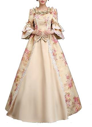 7ba22bd3a5b6c Femmes robe avec crinoline victorienne Renaissance medieval Palais ...
