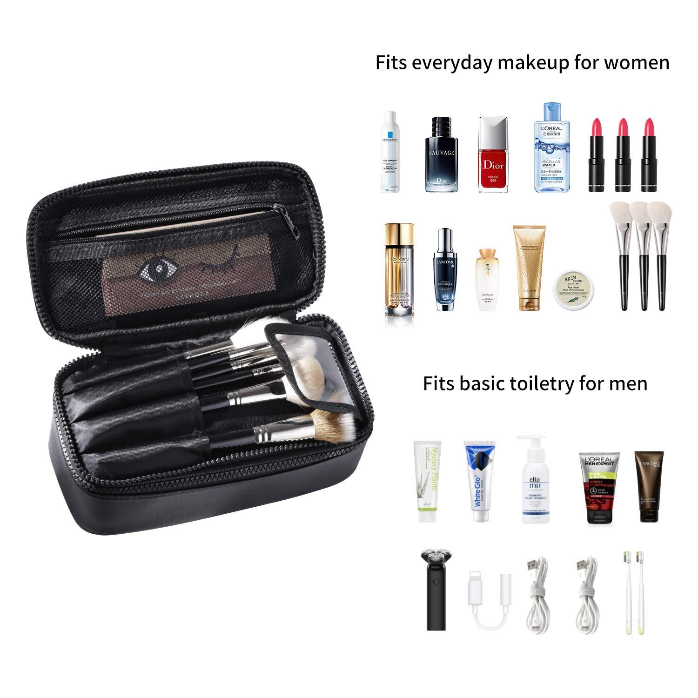 Amazon.com: Neceser organizador de viaje para maquillaje, 2 ...