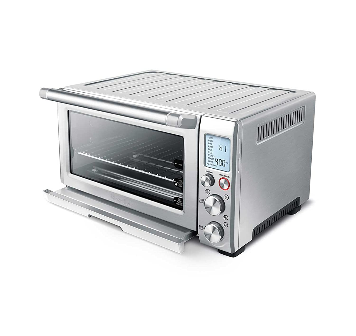 Breville BOV845BSS Smart Oven Pro 1800 W Convection Toaster Oven with Element IQ, Brushed Stainless S