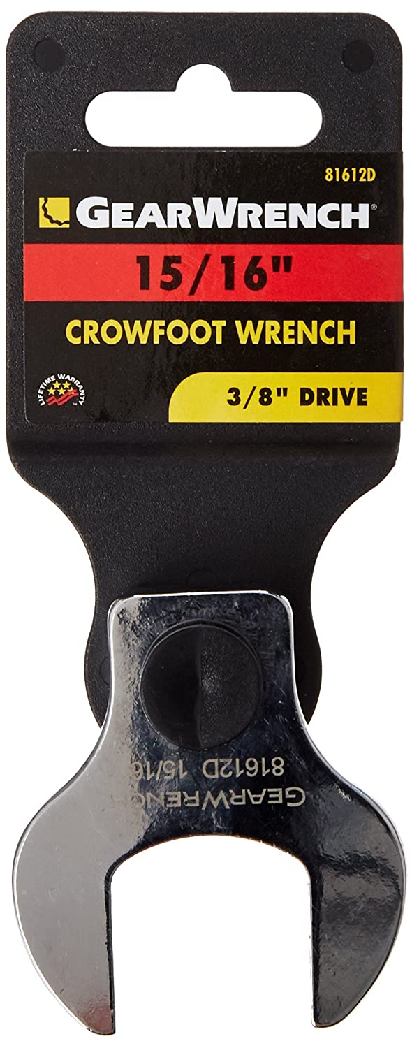 GEARWRENCH 81613 3//8-Inch Drive Crowfoot Wrench 1-Inch