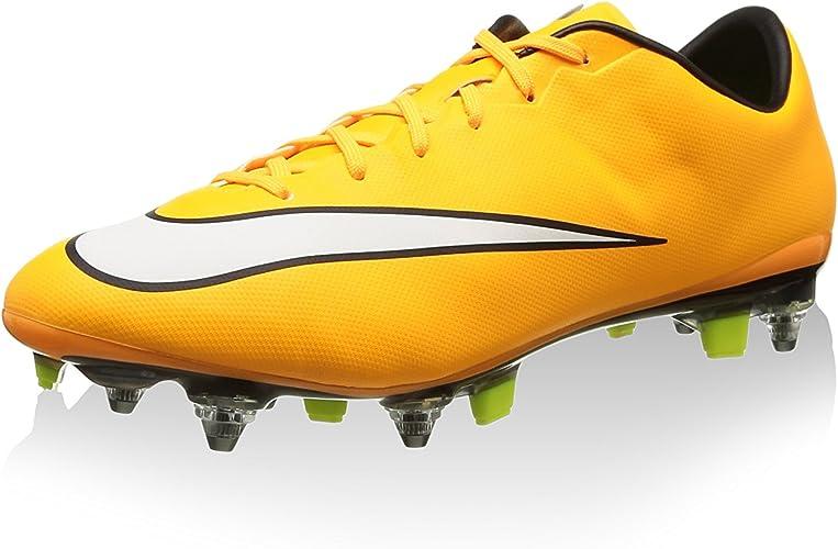 Nike Mercurial Veloce II SG Pro, Bottes pour Homme Jaune
