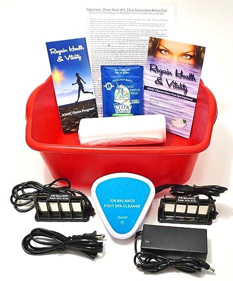 Amazon.com: Ionic – Detox Baño de pies – Automático Detox ...