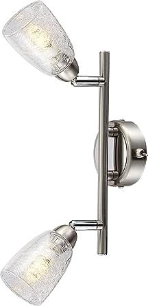 Wall lamp metal chrome LED modern